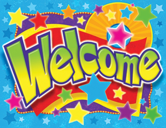 WELCOME STARS LEARNING CHART