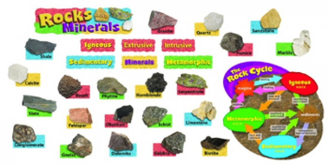 ROCKS & MINERALS MINI BBS