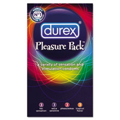 DUREX PLEASURE PACK CONDOM 12CT 3.65 18