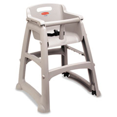 C-PLAS HI CHAIR W/WHEELSLA