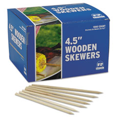 WOODEN SKEWER 4.5IN CORN/COB 10/1M