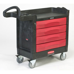 TRADEMASTER 16X30 CART W4 DRAWERS