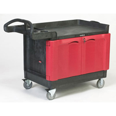 TRADEMASTER 24X36 CART W2DOOR CABINET