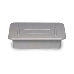 GRAY LID FOR BUS/UTLTYBOX, F/3348 & 3349 12/CS