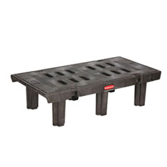 DUNNAGE RACK   24X36BLACK  1500LB CAPACITY