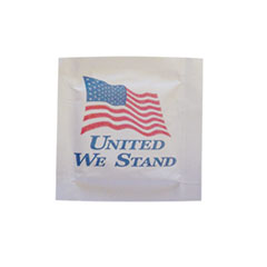 4X7 WSMT UNITED WE STANDFLAG MOIST TOWELETTE(1M)