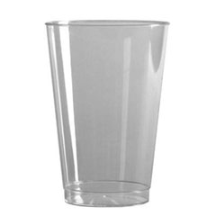 16 OZ CLEAR TALL PLASTIC TUMBLER T16