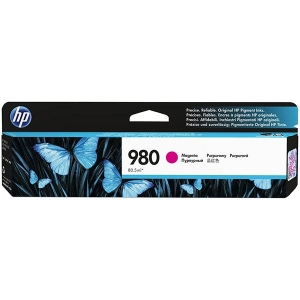 HP 980 Magenta Original Ink Cartridge for US Government (6,600 Yield) (TAA Compliant Version of D8J08A)