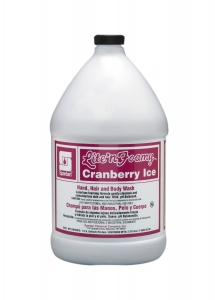 Lite'n Foamy Cranberry Ice - 1 Gal 4/Cse