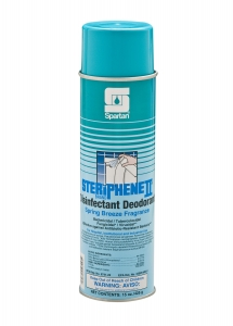 Steriphene II  Brand Disinfectant Deodorant Spring Breeze Fragrance - 12-20 Oz.Can