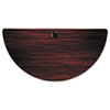 ***CLOSEOUT ITEM*** Alera Valencia Series Training Table Top, Half-Round,47-1/4w x 23-5/8d, Mahogany
