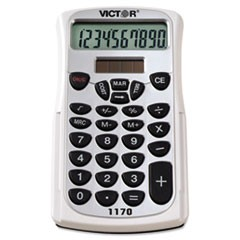 1170 Handheld Business Calculator w/Slide Case, 10-Digit LCD