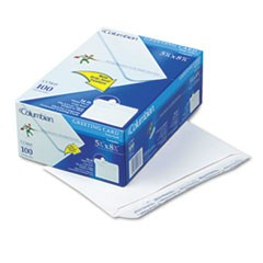 Greeting Card Envelope, Grip Seal, A9, 5 3/4 x 8 3/4, White, 100/Box