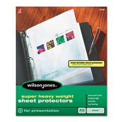 Top-Loading Super Heavy Sheet Protectors, Letter, 50/Box