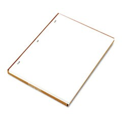 Ledger Sheets for Corporation and Minute Book, White, 11 x 8-1/2, 100 Sheets