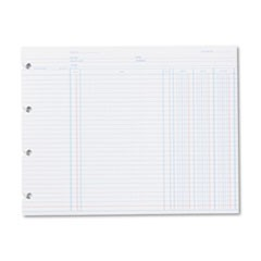 Accounting, 9-1/4 x 11-7/8, 100 Loose Sheets/Pack