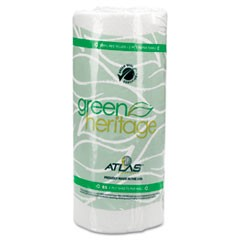 "Green Heritage Professional Kitchen Roll Towels, 11""x8"", White, 85/RL, 30 RL/CT"