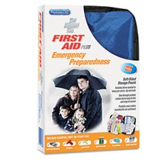 Soft-Sided First Aid and Emergency Kit, 105 Pieces/Kit