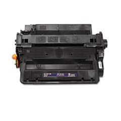 0281601500 55X High-Yield MICR Toner, 12500 Page-Yield, Black