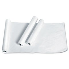 "Exam Table Paper, Deluxe Smooth, 21"" x 225ft, White, 12 Rolls/Carton"