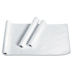 "Exam Table Paper, Deluxe Crepe, 21"" x 125ft, White, 12 Rolls/Carton"