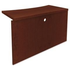 Mira Series Wood Veneer Bridge, 48w x 24d x 29�h, Medium Cherry