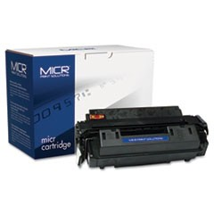 Compatible Q2610A(M) (10AM) MICR Toner, 6000 Page-Yield, Black