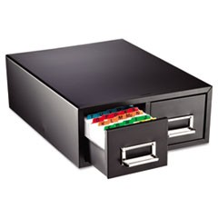 "Drawer Card Cabinet Holds 3,000 3 x 5 cards, 12 5/16"" x 16"" x 5 3/16"""