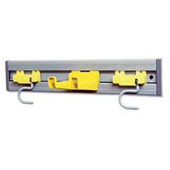 Rubbermaid  Commercialcloset Organizer/Tool Holder, 18W X 3.25D X 4.25H, Gray