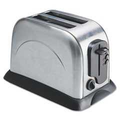 2-Slice Toaster with Adjustable Slot Width, Stainless Steel