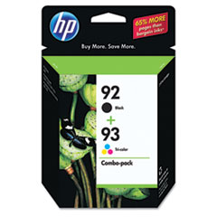HP 92 Black/HP 93 Tri-Color (C9513FN) 2-pack Original Ink Cartridges
