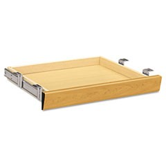 Laminate Angled Center Drawer, 22w x 15.38d x 2.5h, Harvest