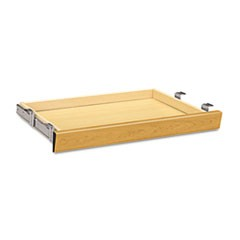 Laminate Angled Center Drawer, 26w x 15.38d x 2.5h, Harvest