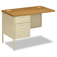 Metro Classic Series Workstation Return, Left, 42w x 24d, Harvest/Putty