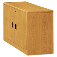 10700 Series Locking Storage Cabinet, 36w x 20d x 29 1/2h, Harvest