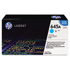 HP 645A, (C9731A) Cyan Original LaserJet Toner Cartridge
