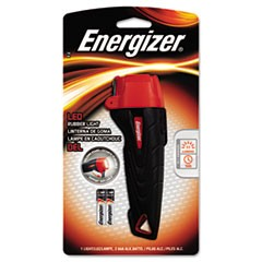 Rubber Flashlight, 2 AAA, Small