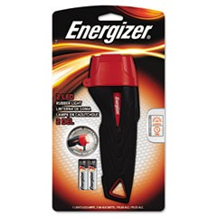 Rubber Flashlight, 2 AA, Large