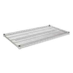 Industrial Wire Shelving Extra Wire Shelves, 48w x 24d, Silver, 2 Shelves/Carton