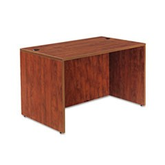 Valencia Series Straight Front Desk Shell, 47 1/4 x 29 1/2 x 29 1/2, Med Cherry
