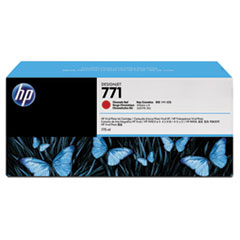 HP 771, (B6Y40A) 3-pack Red Original Ink Cartridges