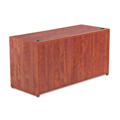 Alera Valencia Series Credenza Shell, 59 1/8w x 23 5/8d x 29 1/2h, Medium Cherry