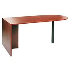 Valencia Series D Top Desk, 71w x 35 1/2d x 29 1/2h, Medium Cherry
