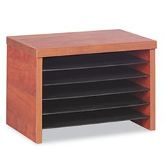 Alera Valencia Under Counter File Organizer Shelf, 15.75w x 9.88d x 10.88h, Cherry