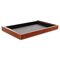 Alera Valencia Series Center Drawer, 24.5w x 15d x 2h, Medium Cherry