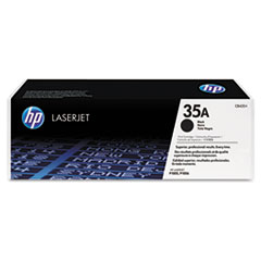 HP 35A, (CB435A) Black Original LaserJet Toner Cartridge