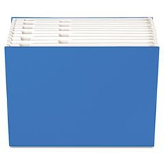"Case File, 12 Pocket, 3/4"" exp., Letter, Blue, 1/ea"