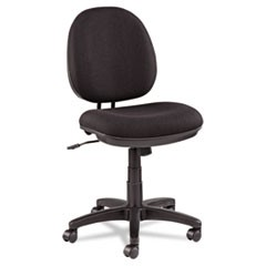 Alera Interval Swivel/Tilt Task Chair, 100% Acrylic, Black