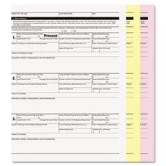 Digital Carbonless Paper, 3-Part, 8 1/2 x 11, White/Canary/Pink, 1670/CT