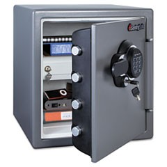 Fire-Safe w/Digital Keypad Access, 1.23 ft3, 16.38 x 19.38 x 17.88, Gunmetal
